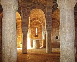 Fraternity of Bose at San Masseo, Assisi (the crypt, 1059)